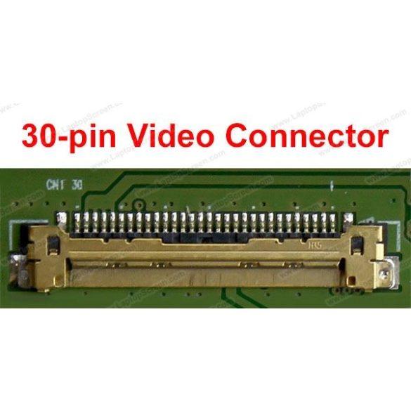 """LP156WHB-TPG1 LG Philips LCD 15,6"""" SLIM HD 30 pin fényes"""