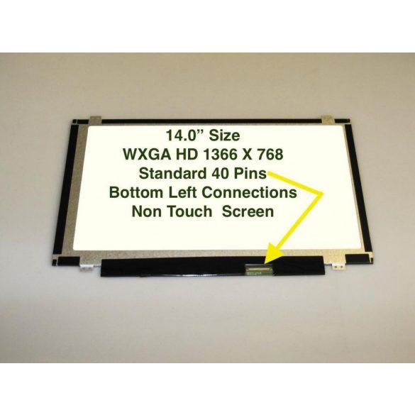 "LTN140AT11 Samsung LCD 14"" SLIM HD 40 pin matt"