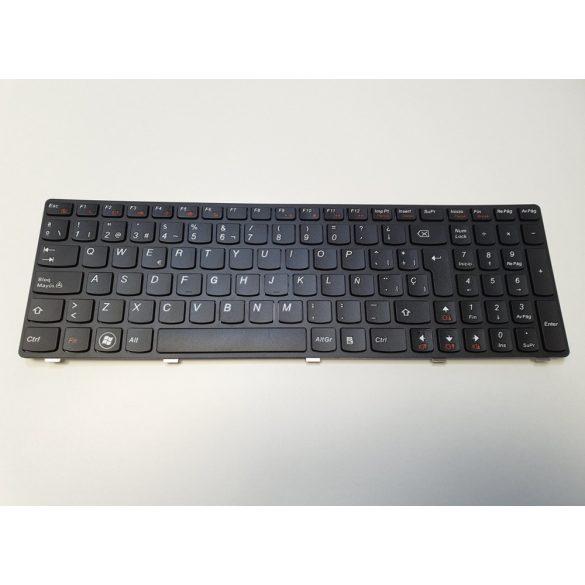 LV03 - klaviatúra spanyol SP, fekete (G570, G575, V570, Z560, Z560A, Z565, Z565A, Z570)