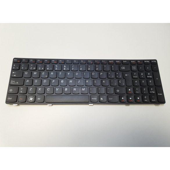 LV03 - klaviatúra spanyol SP, fekete (G570, G575, Z560, Z560A, Z565, Z565A)