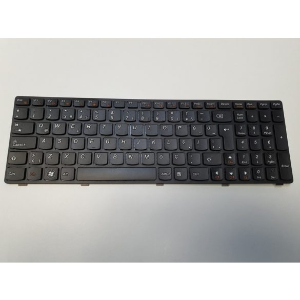 LV06 - klaviatúra angol UK, fekete (B580, G580, Z580, G590, G770, G780 G790)