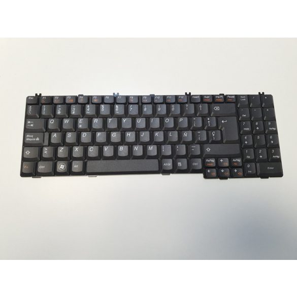 LV09 - klaviatúra spanyol SP, fekete (G550 B550 B560 B560A G555A G555AX V560)