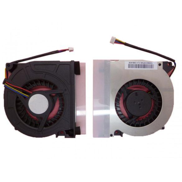 LV13 - CPU hűtő ventilátor Lenovo Ideapad Y510, Y510A, Y510M, Y520, Y530, F51 (4PIN)