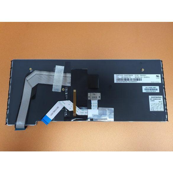 LV17 - klaviatúra magyar HU, fekete világító (Thinkpad Yoga S3 14)