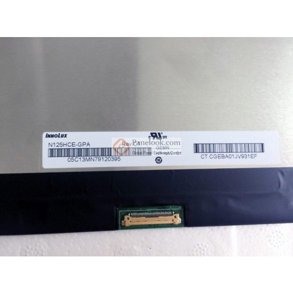 "N125HCE-GPA Chimei Innolux LCD 12,5"" SLIM FHD 30 pin matt (Near Bezel)"