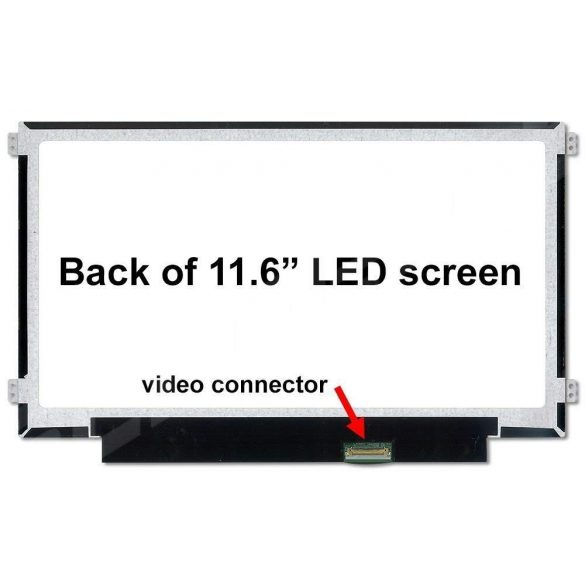 "NT116WHM-N21 BOE Hydis LCD 11,6"" SLIM HD 30 pin fényes"