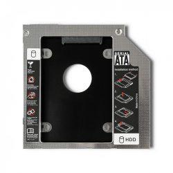 HDD keret optikai meghajtó helyére 12,7mm