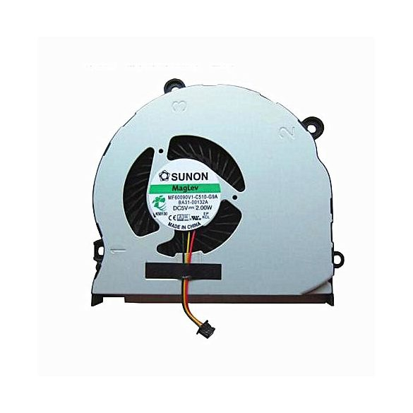 SA02 - CPU hűtő ventilátor Samsung  NP350E7, NP350V5C, NP355E4,  NP355E5X, NP365E5C, NP350V5A