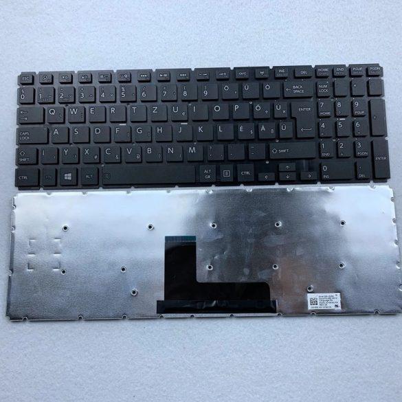 TB01 - laptop klaviatúra magyar HU, fekete (Satelliet C50-C C50D-C C55-B C55D-B L50-B, L55-B, P50-W)