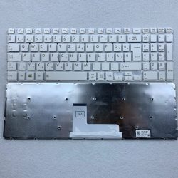TB01 - klaviatúra magyar, fehér (Satellite C50-C  C55-C C50D-C C55D-C L50-B L50-C  L50T-C P50W-B)