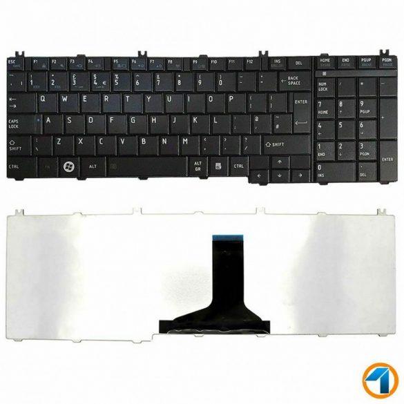 TB02 - klaviatúra spanyol SP, fekete (Sateliite C650, C655, C660, L650, L655, L750, L755)