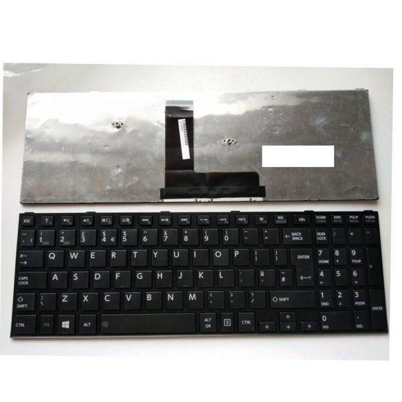 TB06 - klaviatúra angol UK, fekete (Satellite C50-B, C50D-B, C55-B, C55D-B, Tecra A50-C, Z50-C)