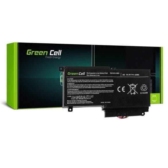 Green Cell akku Toshiba Satellite L50-A L50-A-19N L50-A-1EK L50-A-1F8 L50D-A P50-A S50-A